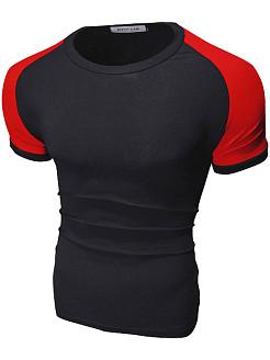 Бордово-чёрная футболка, Envy Lab