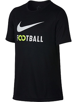 Чёрная футболка FOOTBALL, Nike