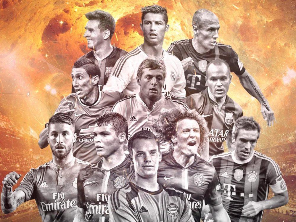 Звёзды футбола
