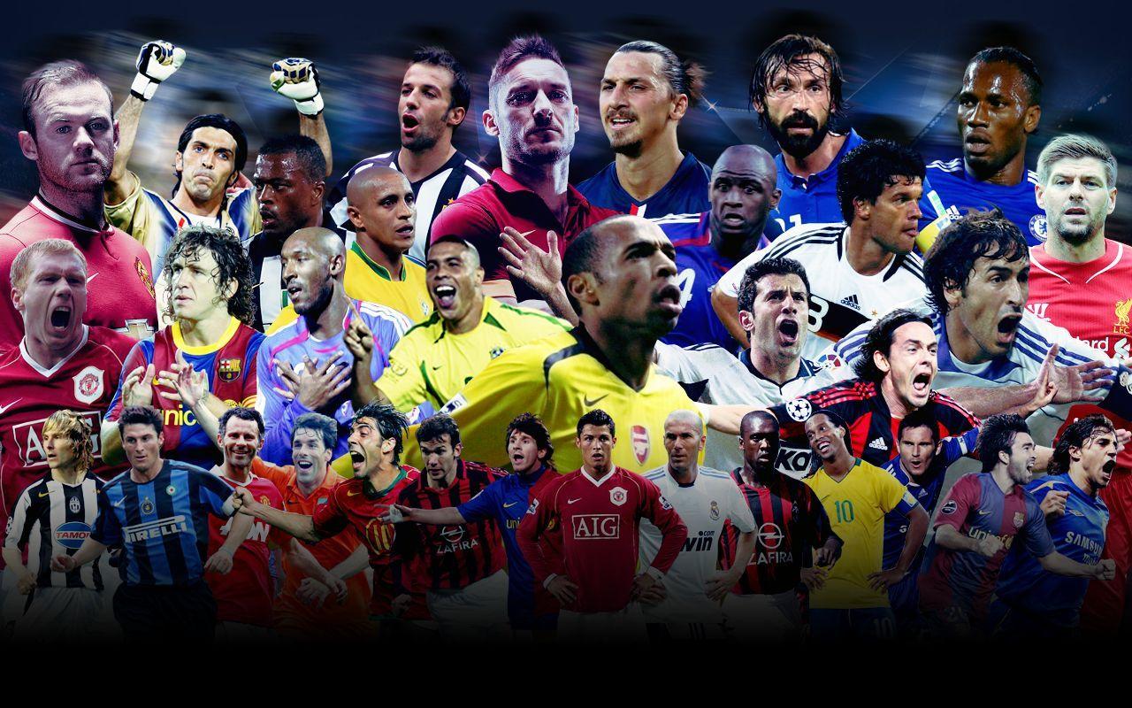Звёздные футболисты
