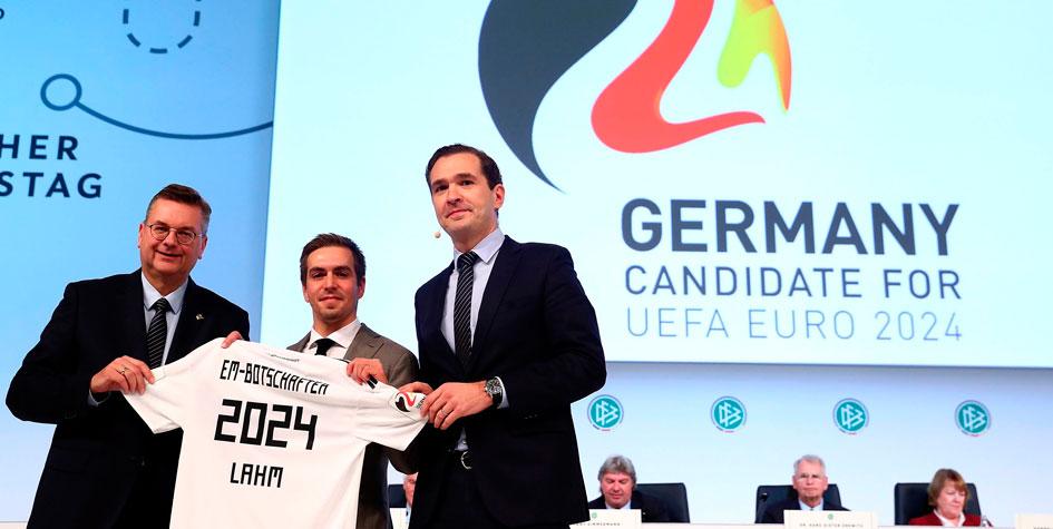 Официальное представление Германии в качестве хозяйки ЕВРО 2024
