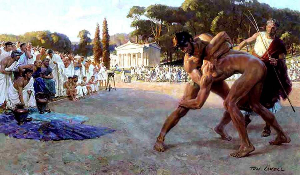 Спорт в Древней Греции