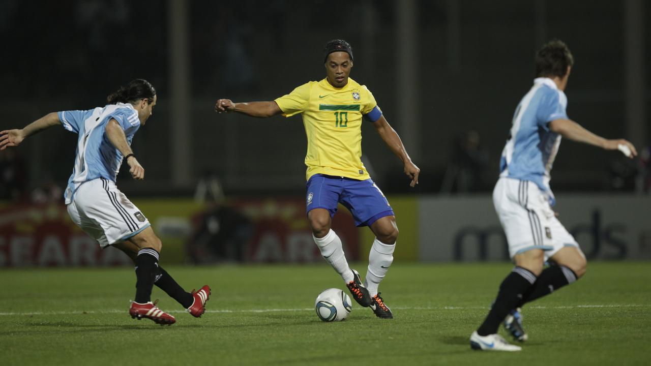 Дриблинг Ronaldinho