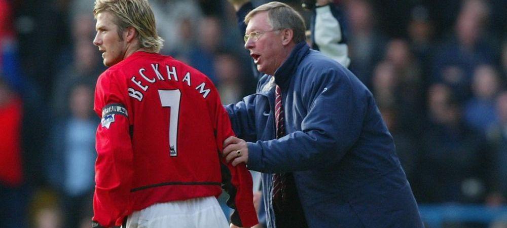 Alex Ferguson and Backham