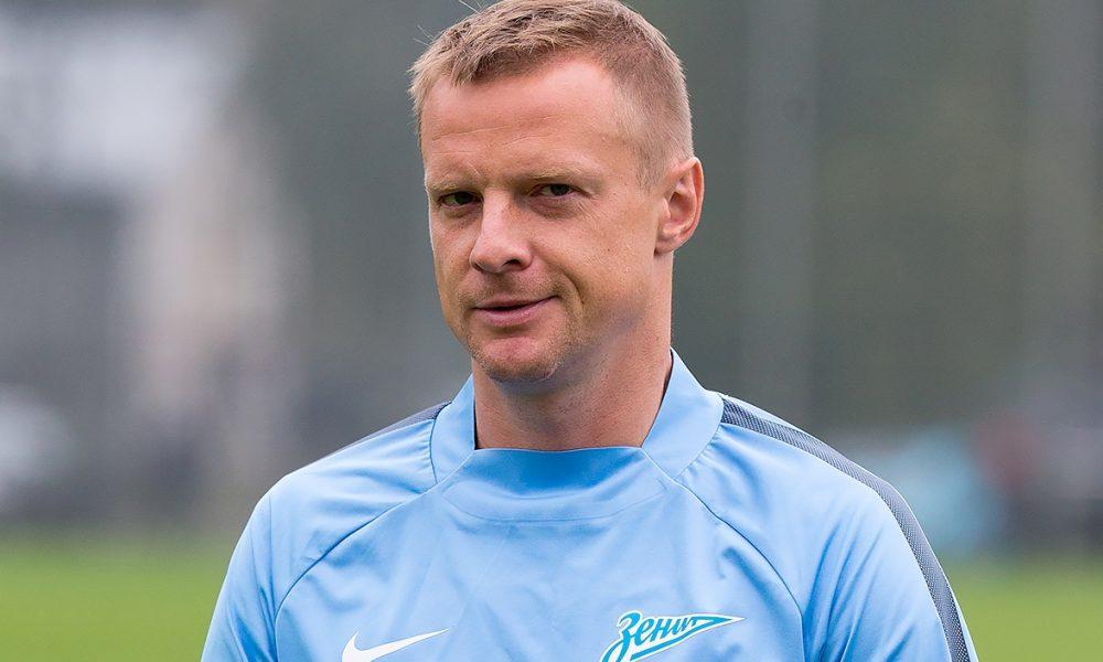 Футболист Вячеслав Малафеев