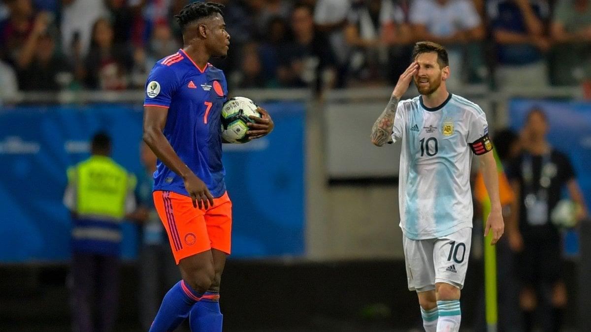 Аргентина vs Колумбия
