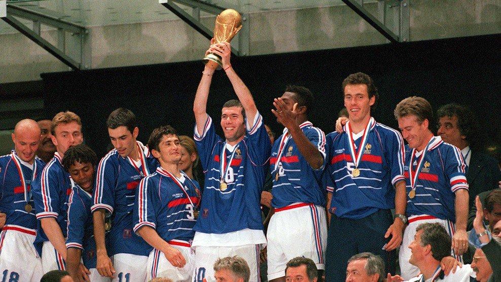 Сборная Франции по футболу 1998