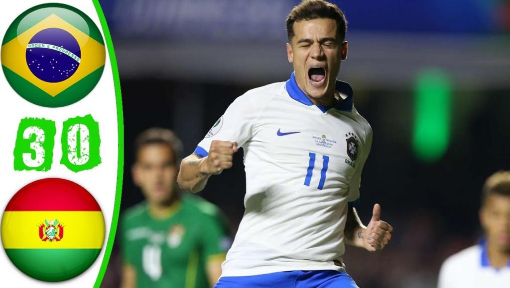 Бразилия vs Боливия