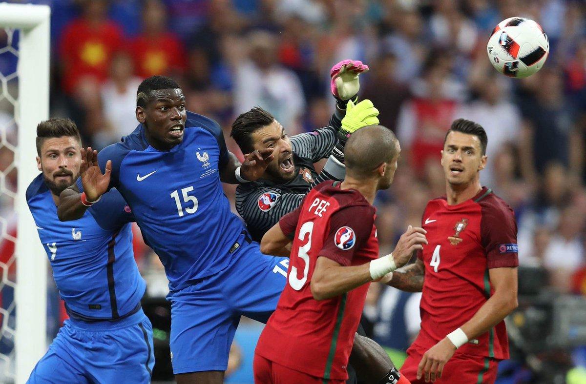 Франция vs Португалия 2016
