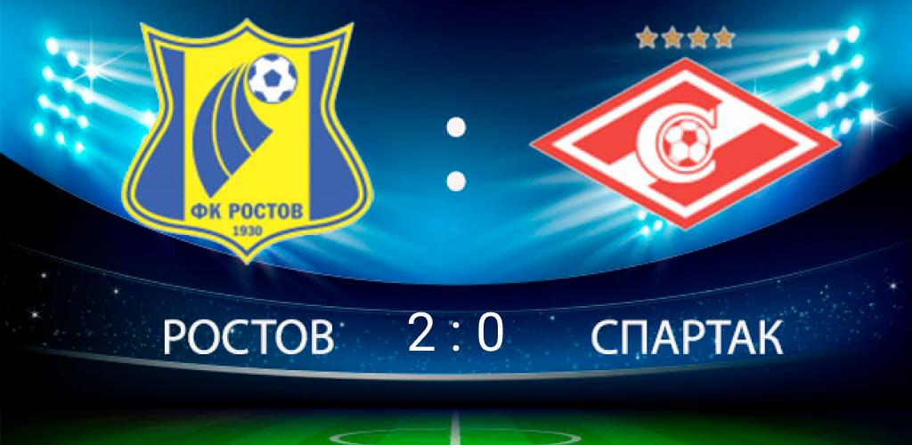 Ростов vs Спартак
