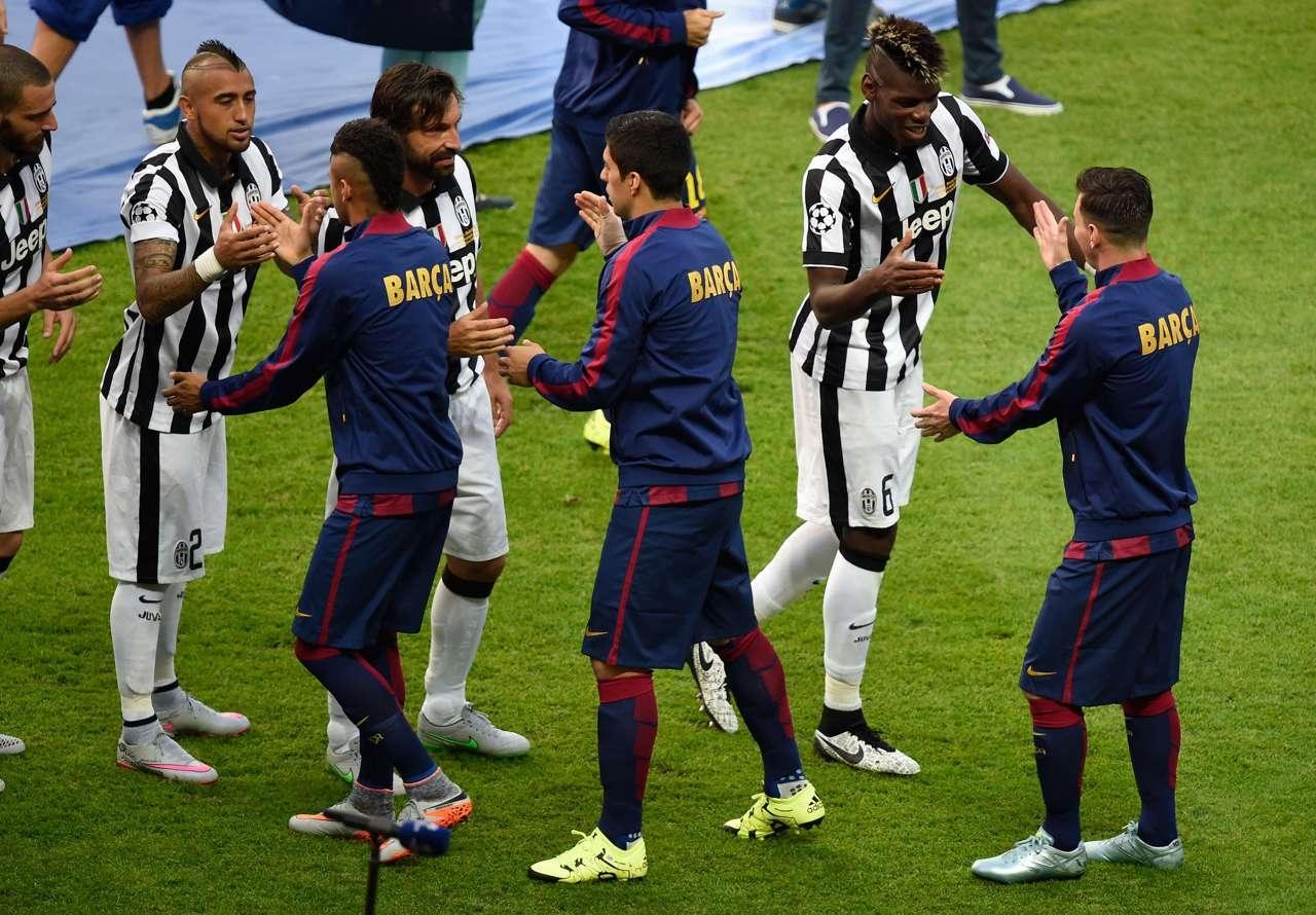 Ювентус vs Барселона