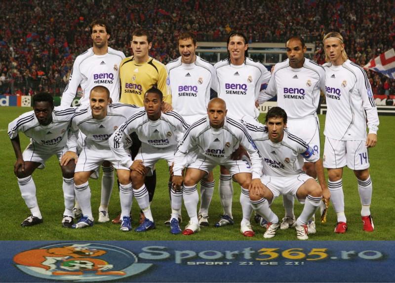 Состав Реал Мадрид 2006